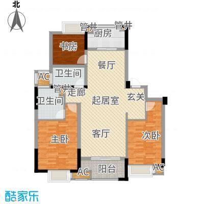 景瑞望府112.00㎡3#、4#、5#楼C户型
