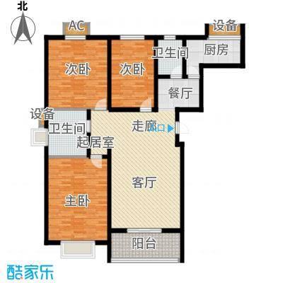 京源柳郡131.69㎡双卫3面积13169m户型