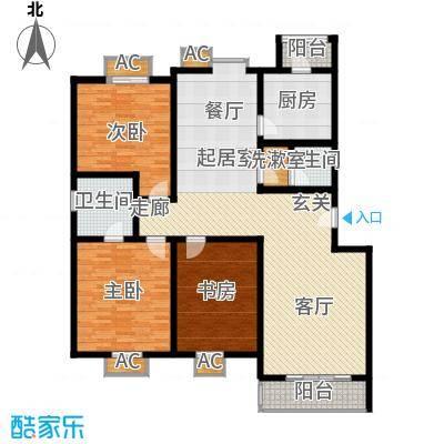 京源柳郡130.89㎡型2面积13089m户型