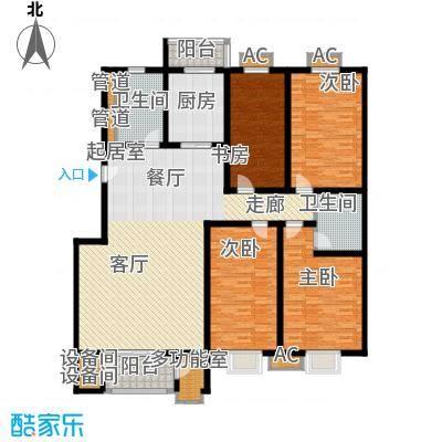 京源柳郡184.67㎡别墅型2面积18467m户型