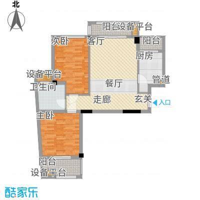 春江名城91.00㎡A6-1户型