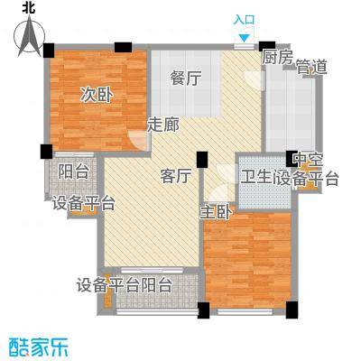 春江名城92.90㎡三期A8-1户型