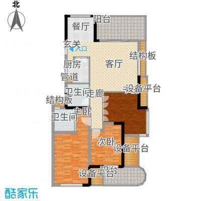 万汇广场140.00㎡A户型