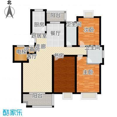 兴福锦园144.70㎡6面积14470m户型