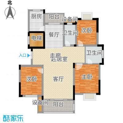 兴福锦园142.20㎡一号楼面积14220m户型
