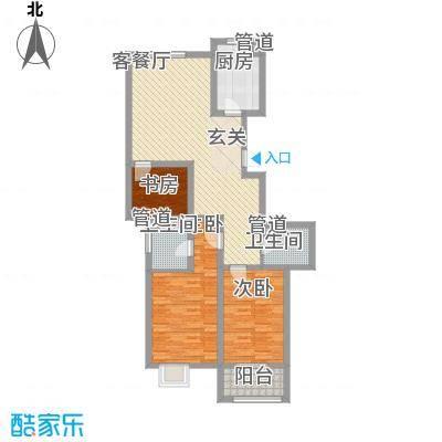 文昌雅苑124.55㎡面积12455m户型