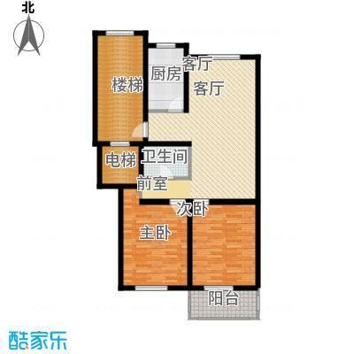 东昌公寓99.09㎡面积9909m户型