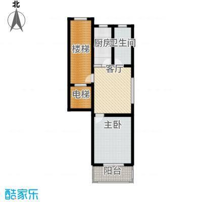 东昌公寓60.41㎡面积6041m户型