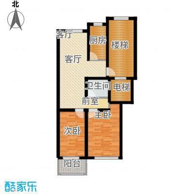 东昌公寓80.67㎡面积8067m户型