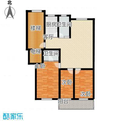 东昌公寓124.35㎡面积12435m户型