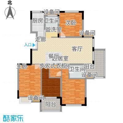 瓜渚绿洲157.90㎡户型
