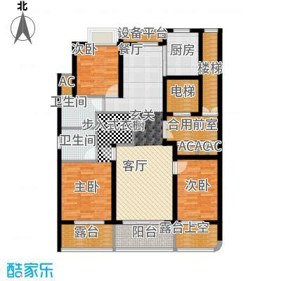 米兰公寓126.00㎡C2户型
