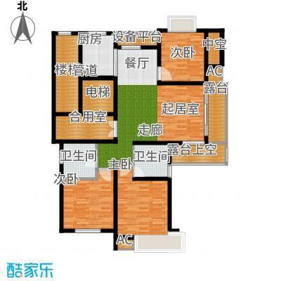 米兰公寓126.00㎡C1户型