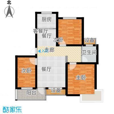 中宇若耶明珠95.40㎡O户型