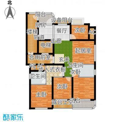 米兰公寓144.00㎡C3户型