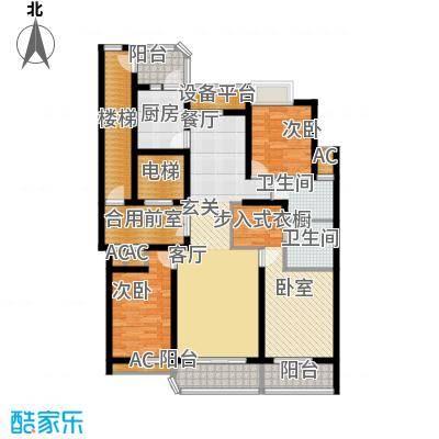 米兰公寓144.00㎡C5户型