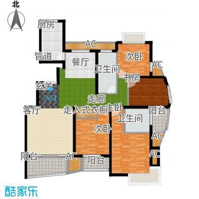 米兰公寓170.00㎡B1户型