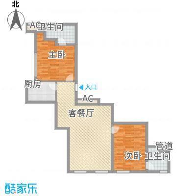 龙禧中心111.20㎡C户型