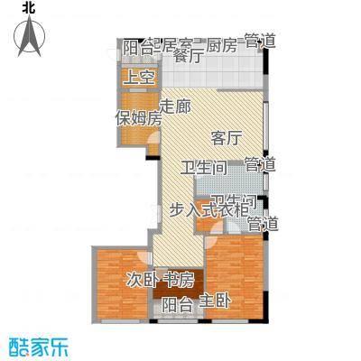 银马公寓144.81㎡A户型