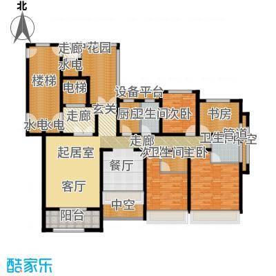 凯瑞米兰公馆185.00㎡3#、5#楼G1户型