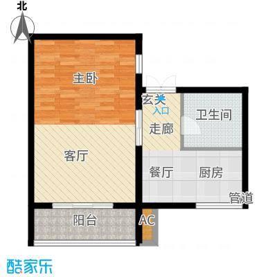 天谛公寓60.09㎡面积6009m户型