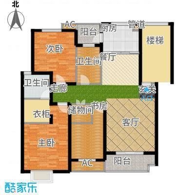 清水苑129.00㎡BCD栋1面积12900m户型