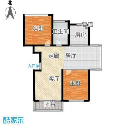 天谛公寓118.64㎡A0-02幽雅型面积11864m户型