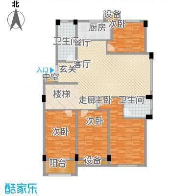 锦麟瓜渚御景园223.00㎡F2户型