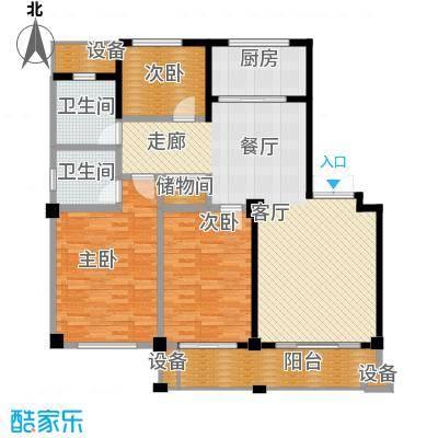 锦麟瓜渚御景园131.80㎡B1户型