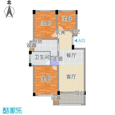 锦麟瓜渚御景园110.30㎡G1户型