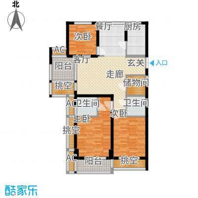 长业天悦城117.00㎡B-1户型