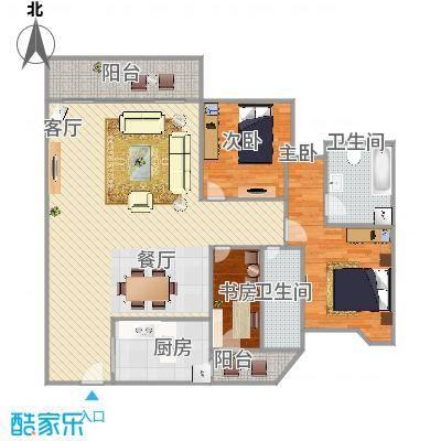 雍逸廷A区的户型图