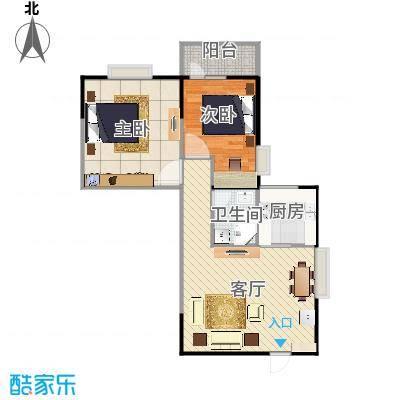 两室一厅87.31