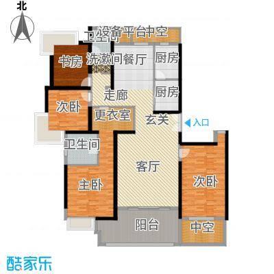 永利中央公馆198.57㎡2号楼I1户型