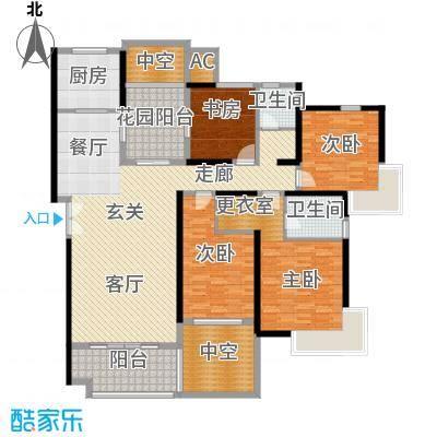 永利中央公馆174.44㎡3号楼G户型