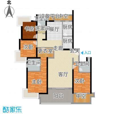 永利中央公馆198.57㎡2号楼4A1户型