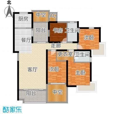 永利中央公馆174.44㎡3号楼4B1户型