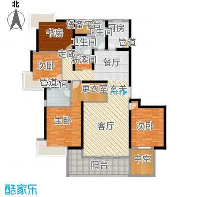 永利中央公馆196.26㎡5号楼H2户型