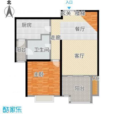 永利中央公馆140.98㎡3号楼中间套户型
