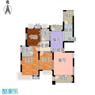 润泽大院142.00㎡中庆二期-D4户型