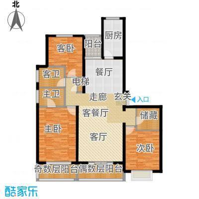 宝业大坂风情162.00㎡户型