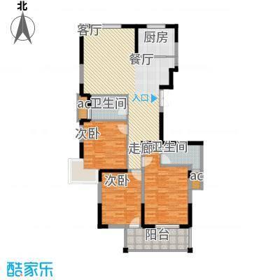 锦江半岛135.88㎡户型
