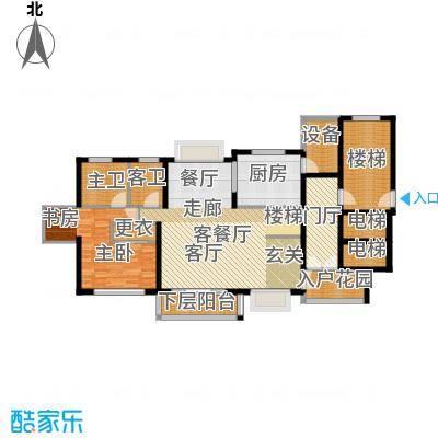 宝业大坂风情18号楼A1型户型