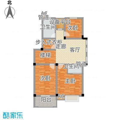 红叶枫情水岸82.00㎡B11#、12#、13#楼储藏室户型