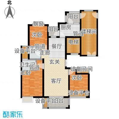 润达锦秀河山137.00㎡I户型
