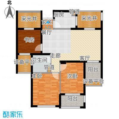 润达锦秀河山109.00㎡C户型