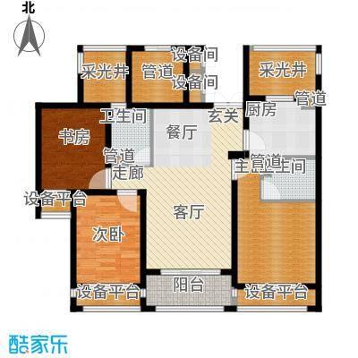润达锦秀河山105.00㎡F户型