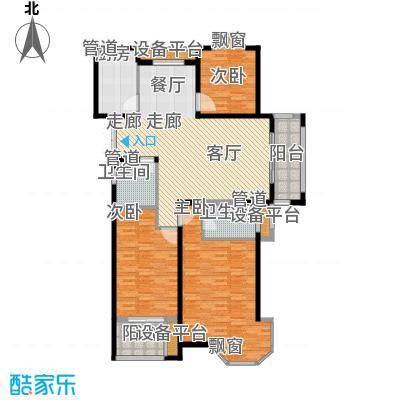 润达锦秀河山141.00㎡E户型