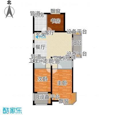 润达锦秀河山146.00㎡C户型