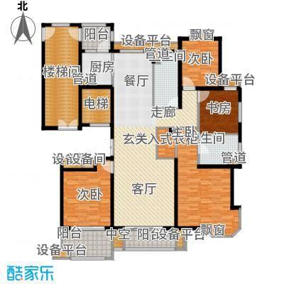 润达锦秀河山186.00㎡D户型